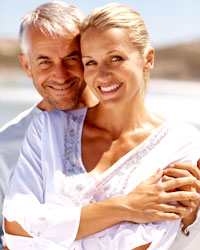 couple happy to try viagra and levitra for male impotence treatment